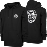 Vans Circle Logo Lock Up Hoodie - black