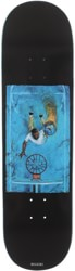 Quasi Henry Game 7 8.5 Skateboard Deck - black
