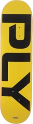 Quasi Ply 8.375 Skateboard Deck - yellow