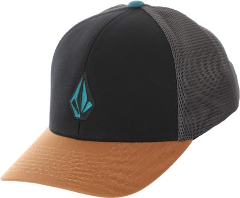 Volcom Kids Full Stone Trucker Hat - golden brown - view large