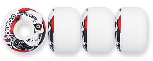 Powell Peralta Ripper Skateboard Wheels - white (97a) - view large